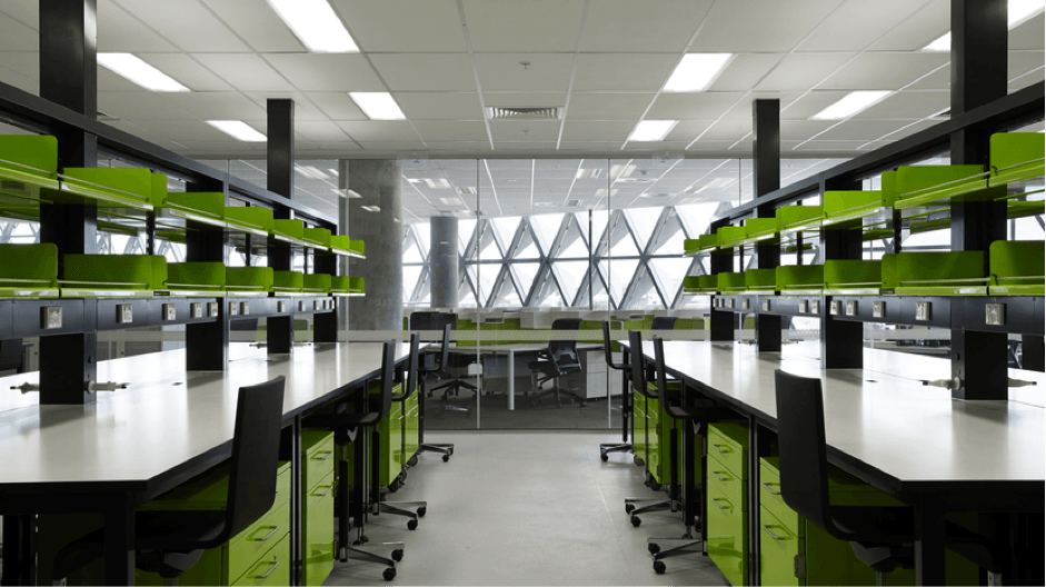 South Australian Health and Medical Research Institute Design and Commission the DALIcontrol lighting control system