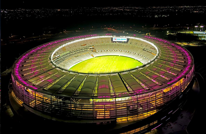 Nilsen is proud to be associated with Optus Stadium