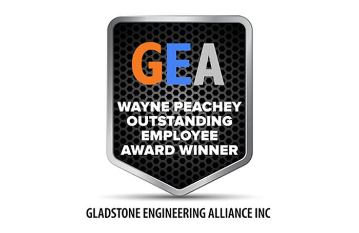Wayne Peachey Outstanding Employee Award Winner 2020